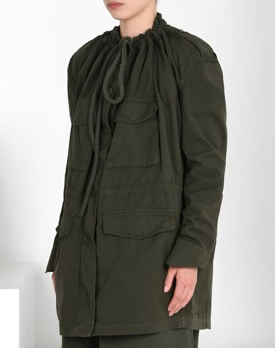 MM6 MAISON MARGIELA Full-length jacket D Canvas military jacket f