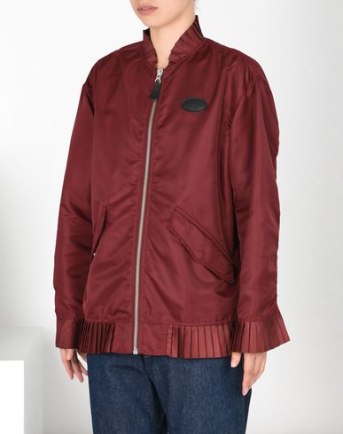 MM6 by MAISON MARGIELA Light jacket D Bomber jacket with pleated details f