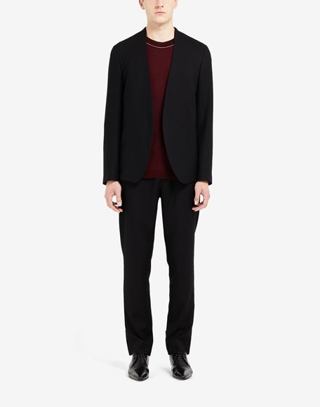 MAISON MARGIELA Collarless virgin wool jacket Jacket Man r