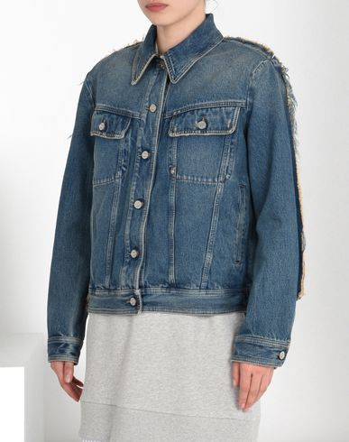 MM6 by MAISON MARGIELA Light jacket D Oversized denim jacket f