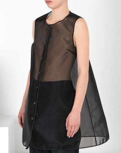 MM6 by MAISON MARGIELA Waistcoat D Transparent crinoline vest f