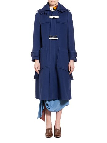 Marni Coat in double wool cloth Woman
