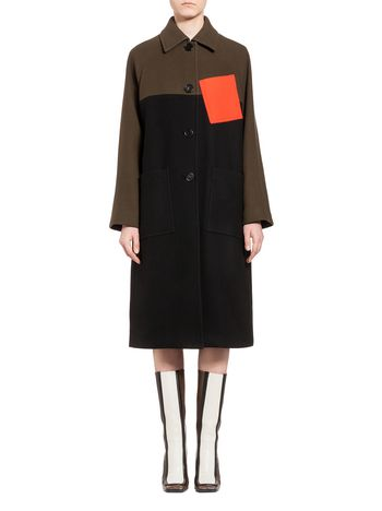 Marni Coat in wool cloth Woman