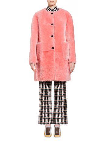 Marni Coat in glacé merino Woman