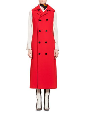 Marni Vest in double-face crepe Woman
