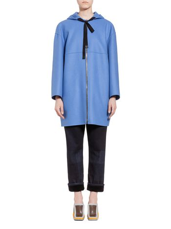 Marni Bomber jacket in wool cloth Woman