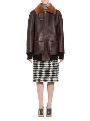 Marni Jacket in lambskin Woman