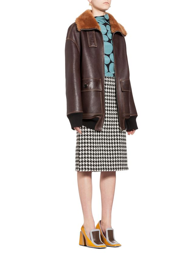 Marni Jacket in lambskin Woman - 5