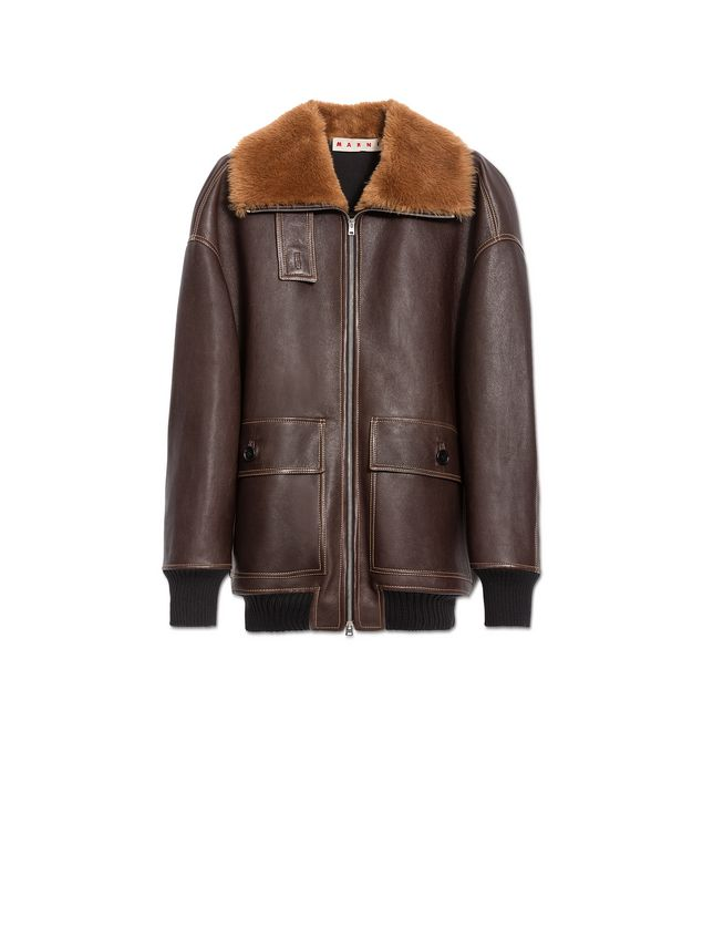 Marni Jacket in lambskin Woman - 2