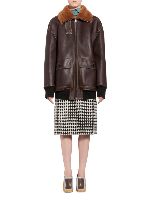 Marni Jacket in lambskin Woman - 1