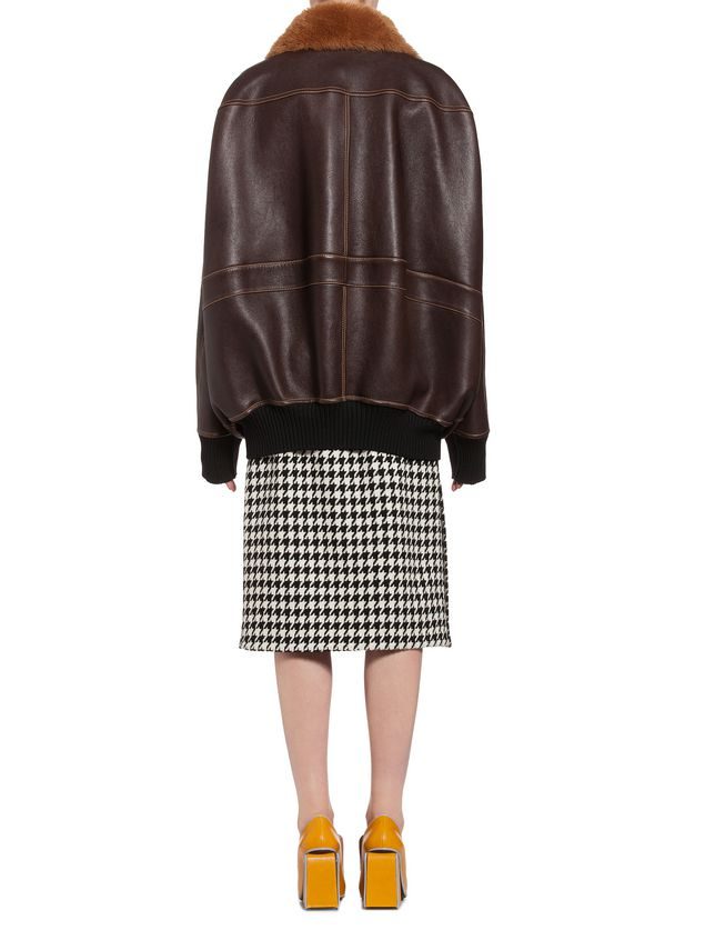 Marni Jacket in lambskin Woman - 3