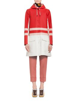 Marni Stutterheim for Marni waterproof coat Woman
