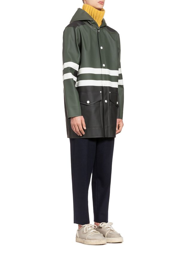 MARNI Sporty Jacket Man Stutterheim Raincoat for Marni a