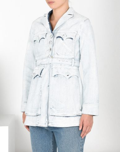 MM6 by MAISON MARGIELA Light jacket D Painted denim belted jacket f