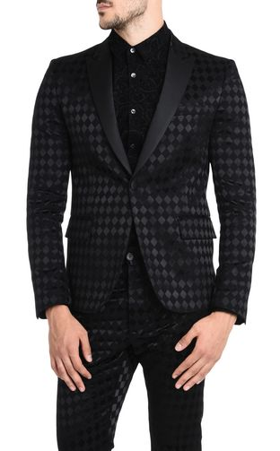 JUST CAVALLI Blazer U Classic jacket with geometric pattern f