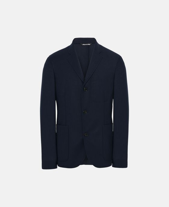 Dark Blue Bardo Jacket