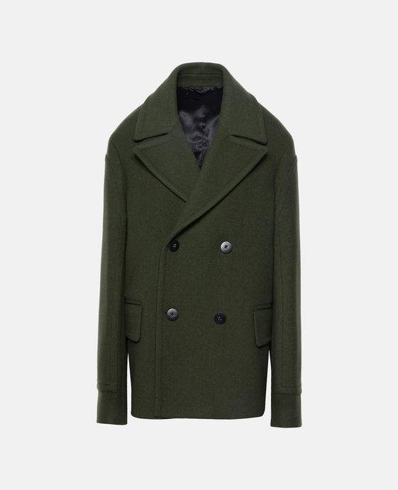 Military Green Os Peacoat