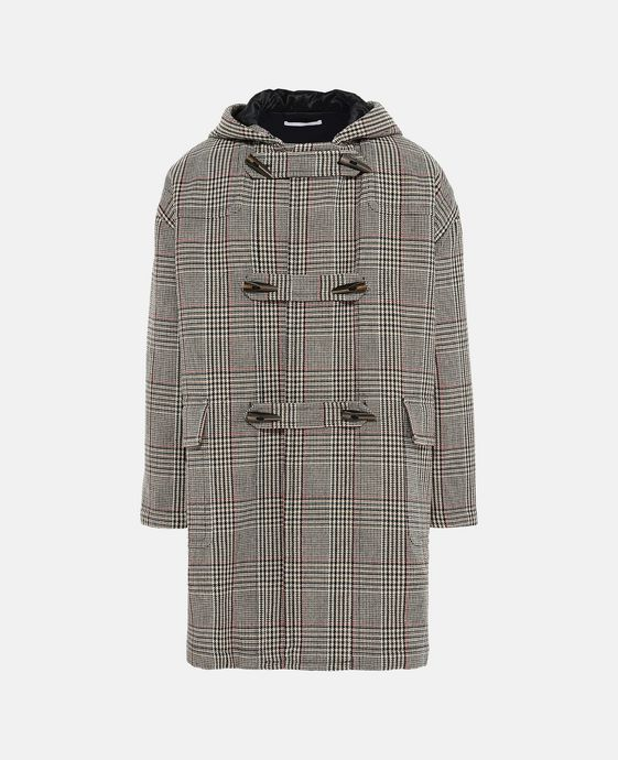Duffle-coat Online à carreaux