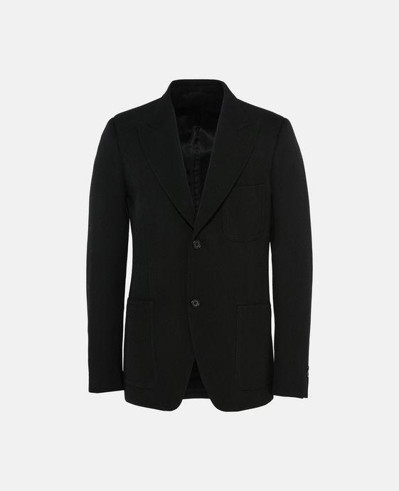 Black Twill Bolan Jacket