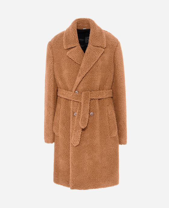 Odan Camel Teddy Coat