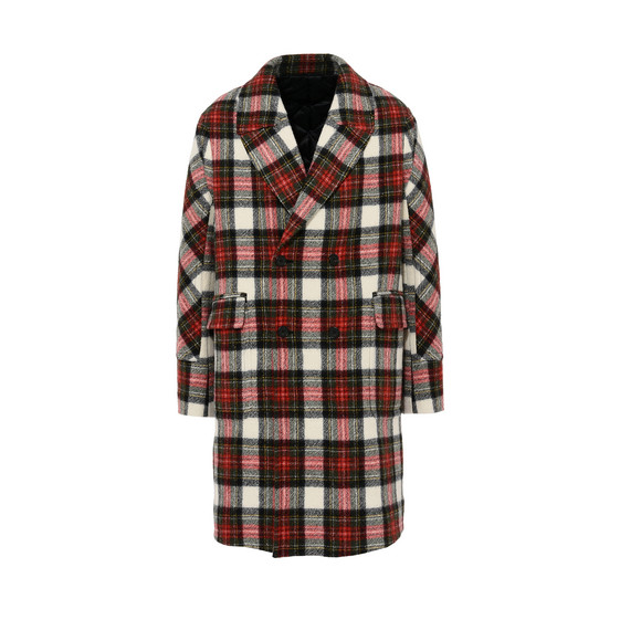 Osborn Red Check Coat