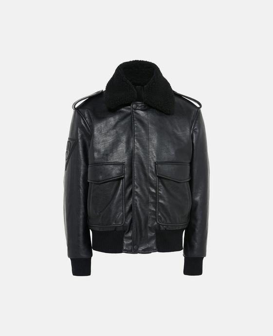 Black Owen Flight Jacket