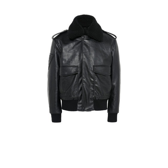 Black Owen Flight Jacket