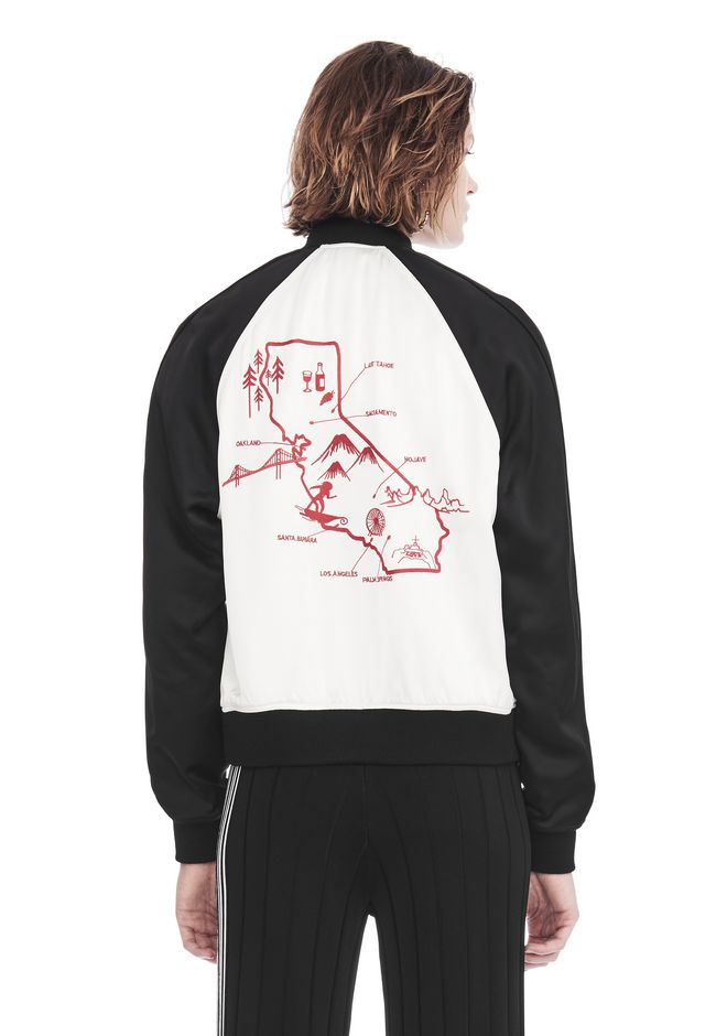 ALEXANDER WANG EXCLUSIVE SOUVENIR JACKET WITH EMBROIDERY 夹克及外套 Adult 12_n_d