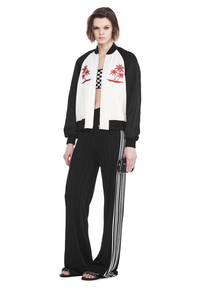ALEXANDER WANG EXCLUSIVE SOUVENIR JACKET WITH EMBROIDERY 夹克及外套 Adult 12_n_f