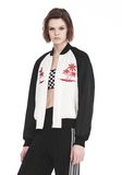 ALEXANDER WANG EXCLUSIVE SOUVENIR JACKET WITH EMBROIDERY 夹克及外套 Adult 8_n_a