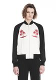 ALEXANDER WANG EXCLUSIVE SOUVENIR JACKET WITH EMBROIDERY 夹克及外套 Adult 8_n_e