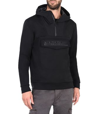NAPAPIJRI RAINFOREST SOFTSHELL MAN RAINFOREST,BLACK