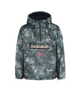 NAPAPIJRI K RAINFOREST EXCLUSIVE KID KID RAINFOREST,MILITARY GREEN