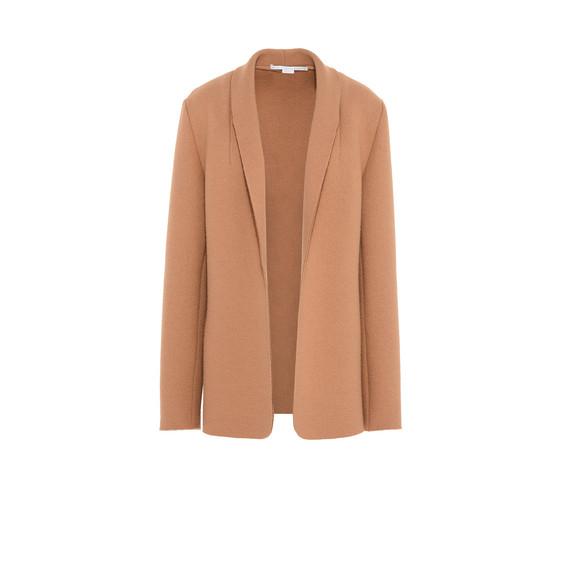 STELLA McCARTNEY Short D Camel Tailored Jacket f
