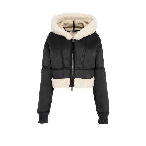 Hana Short Shearling Coat
