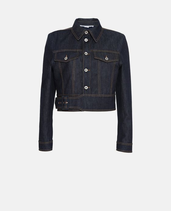 Angelica Raw Denim Jacket
