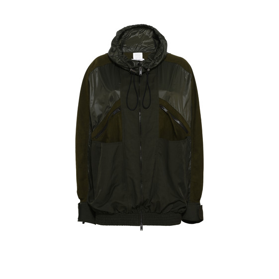 Kallan Green Nylon Jacket