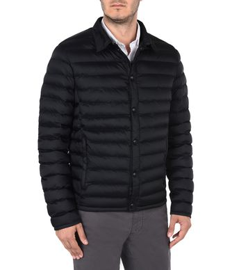 NAPAPIJRI ATIRI MAN SHORT JACKET,BLACK