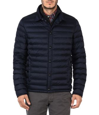 NAPAPIJRI ATIRI MAN SHORT JACKET,DARK BLUE