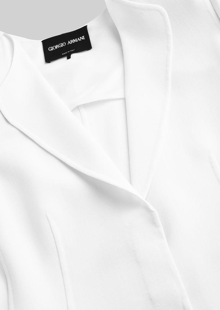 GIORGIO ARMANI DOUBLE WOOL JACKET Fashion Jacket Woman a