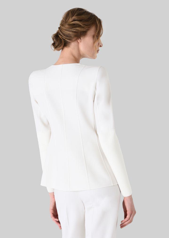 GIORGIO ARMANI DOUBLE WOOL JACKET Fashion Jacket Woman d