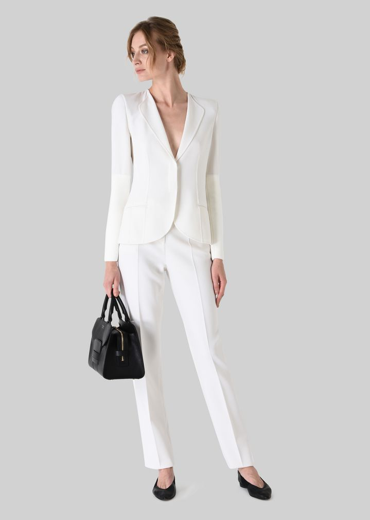 GIORGIO ARMANI DOUBLE WOOL JACKET Fashion Jacket Woman f
