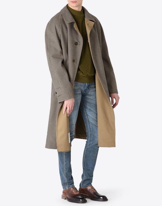 MAISON MARGIELA Houndstooth 'Replica' coat Coat U d