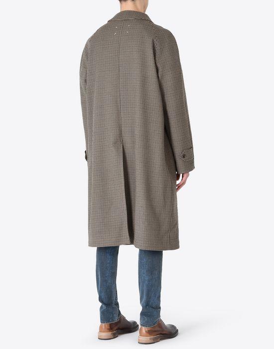MAISON MARGIELA Houndstooth 'Replica' coat Coat U e