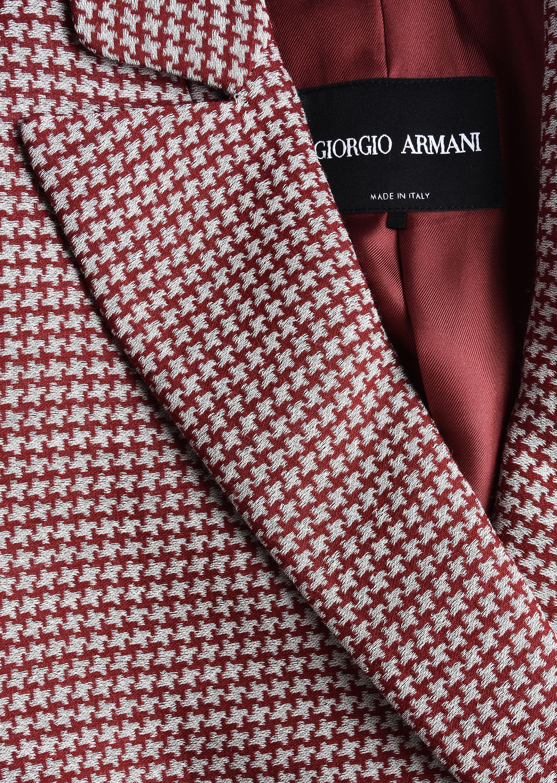 GIORGIO ARMANI SILK AND WOOL CRÊPE JACKET Formal Jacket D a