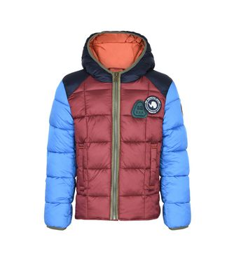 NAPAPIJRI K ARRIN KID KID SHORT JACKET,RED