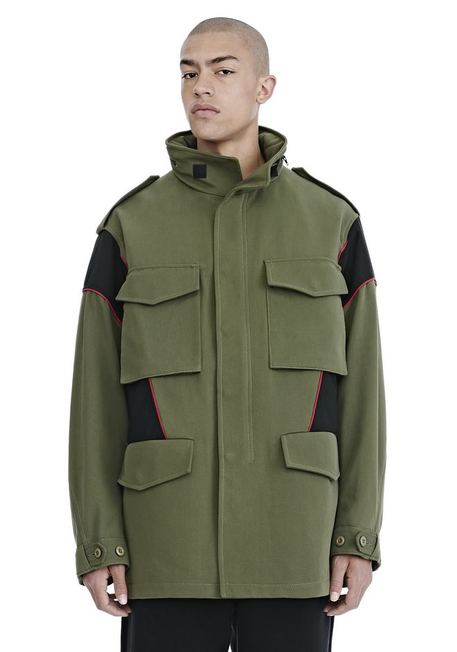 ALEXANDER WANG JACKETS AND OUTERWEAR  Men HYBRID FIELD JACKET