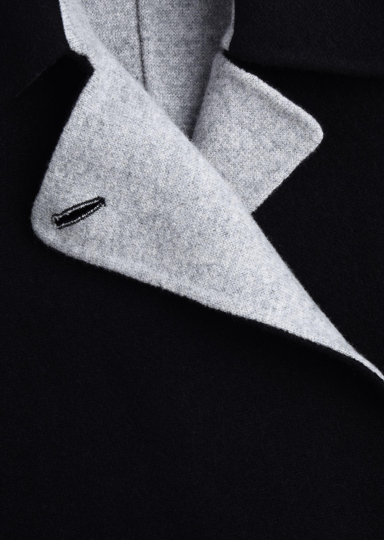 GIORGIO ARMANI SINGLE-BREASTED PEA COAT IN CASHMERE Casual Jacket D a