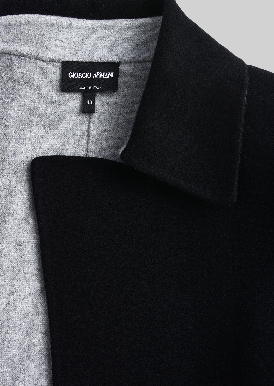 GIORGIO ARMANI SINGLE-BREASTED PEA COAT IN CASHMERE Casual Jacket D b