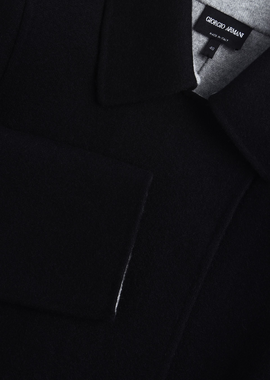 GIORGIO ARMANI SINGLE-BREASTED PEA COAT IN CASHMERE Casual Jacket D e
